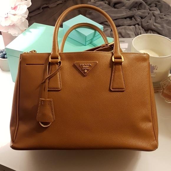 ... ebay prada saffiano lux tote bag galleria caramel 2166a 23277 129b7240ed632